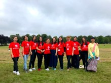 The festival volunteer team