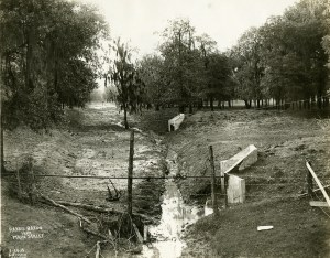 Drainage (harris gully bridge) Feb101913