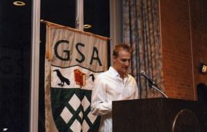 GSA 40th Kristjan Stone 09 president