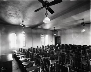 Large classroom in Admin Building 1912 GPN