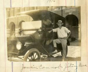 Jitney bus 1916