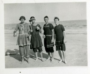 Beach in drag late 40s