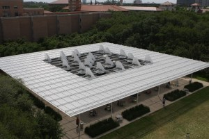 Roof of Brochstein Pavilion