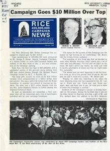 Knapp 33 million campaign event Feb 1969