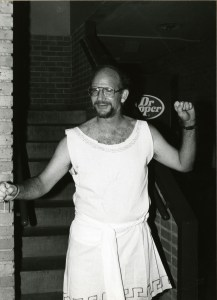 Bill Wilson in greek costume nd