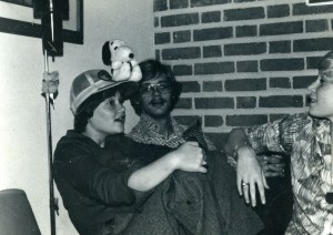 Brown Patti with snoopy 1977