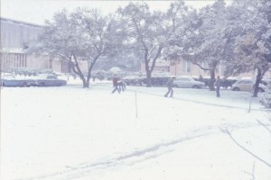 Snow January 1973 Sid