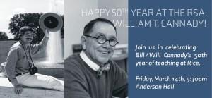 Cannady 50th Anniversary at RSA invitation