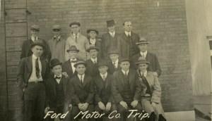 Ford Motor Co trip 1916 Knapp
