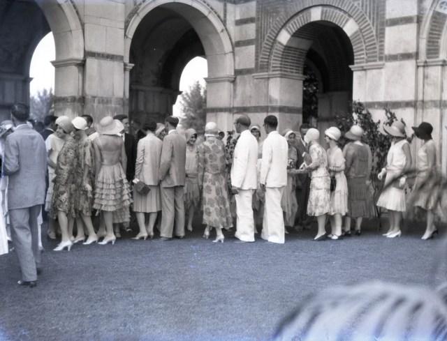 Garden party 1930 commencement 2