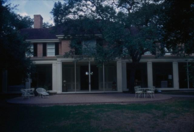President's House September 1970