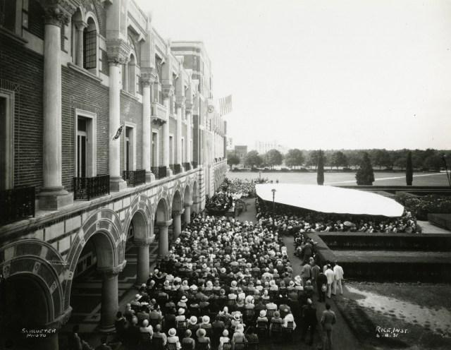 Commencement 1931