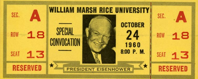 Ike reserved ticket