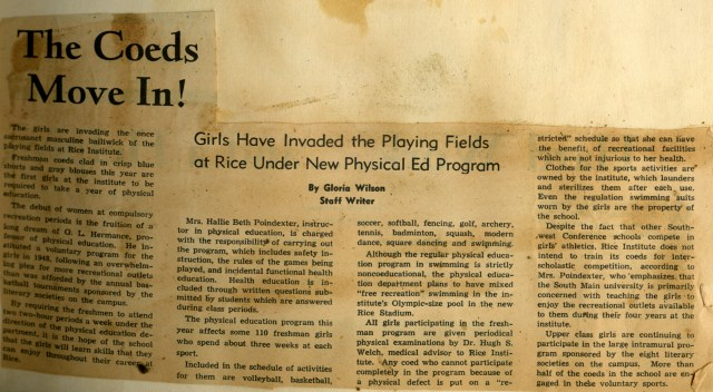 New SLL scrapbook golf course article 1950