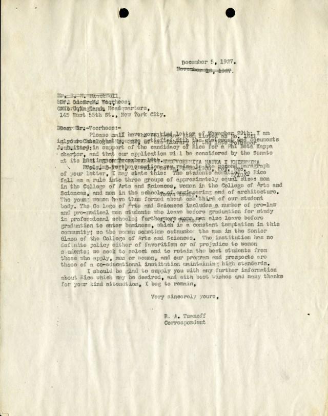 New Phi Beta Kappa explanation 1927