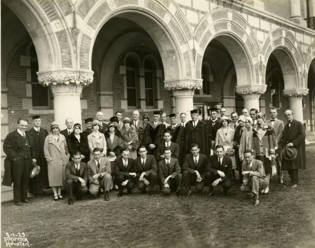 PBK Installation of Beta Chapter of Texas 1929