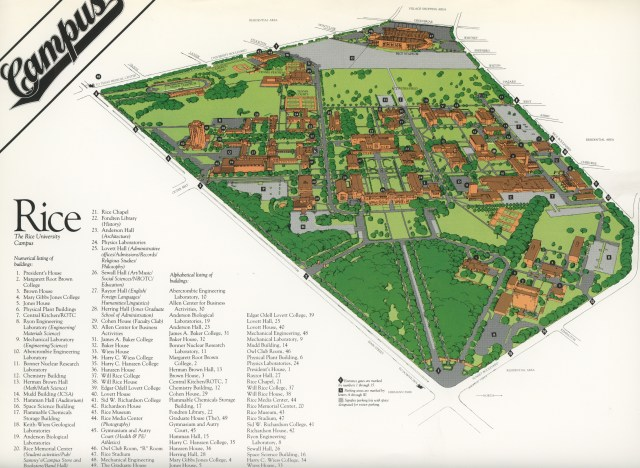 Campus map nd