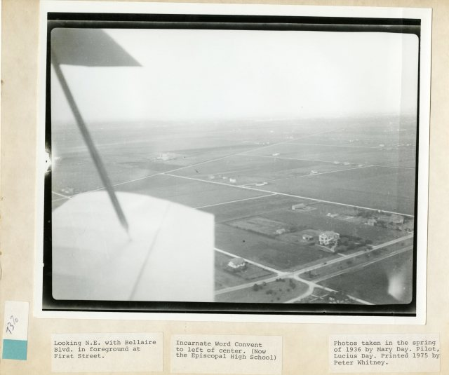 Bellaire HIstorical Society aerial 1936 046