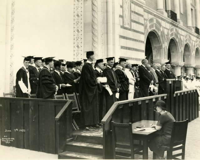 Baccalaureate 1925 what job 048