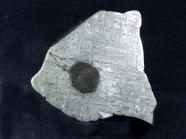 Rice Northwest Rock and Mineral Museum Meteorite Exhibit Display - meteorite3.