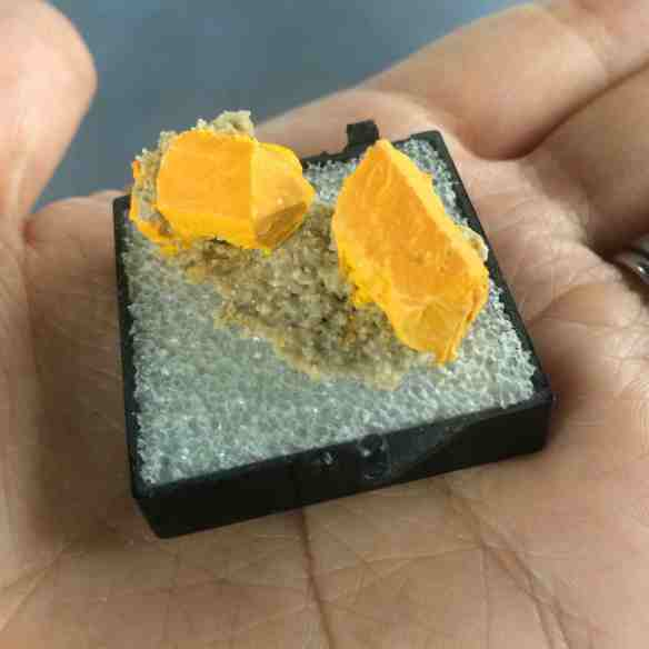Pararealgar crystals
