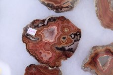 Unusual agate formations for sale.