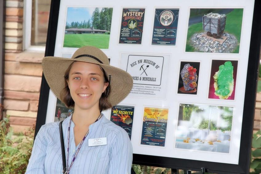 Leslie Moclock, museum curator.
