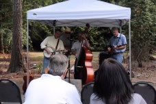Band plays at Rice Northwest Museum of Rocks and Minerals - Summer Fest 2015.