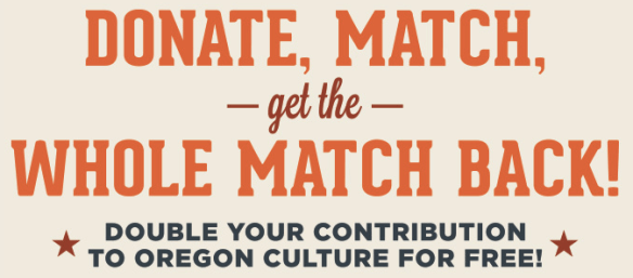 OR Cultural Trust Match Program