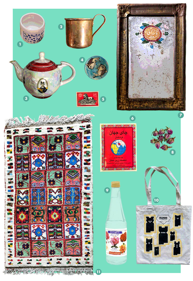 Iran Souvenirs Gifts Tips