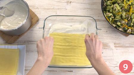Lasagne vegetariane - Passaggio 9