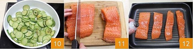 Salmone grigliato con salsa al prezzemolo