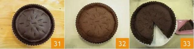 la pizza de chocolate dulce