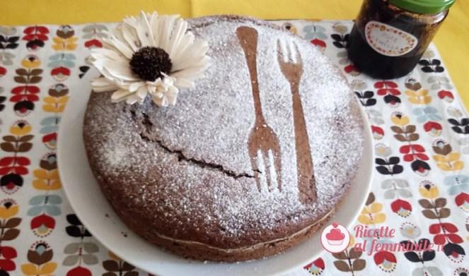 Torta al grano saraceno con marmellata di more - torta-grano-saraceno-ok-2