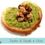 Pesto di Piselli e Noci con o senza il Cuisine Companion