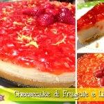 Cheesecake di fragole e limone (falsa) con e senza il Cuisine Companion