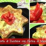 Torta di Zucchine con Farina di Mais e Farro