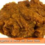 Spezzatino di carne con Zucca Gialla con il Cuisine Companion