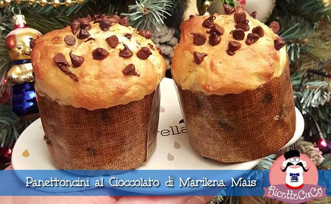 panettoncini al cioccolato marilena mais ricette natalizie dolci monsieur cuisine moncu moulinex cuisine companion ricette cuco bimby kcook kenwood
