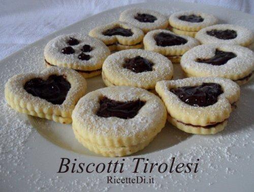 biscotti tirolesi al cioccolato