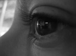 Tina's pretty eye