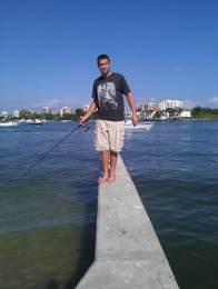 Fishing at Phil Foster Park