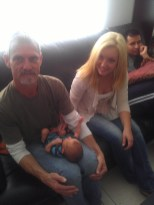 Grandpa Don, Baby Rylan, Aunt Rose