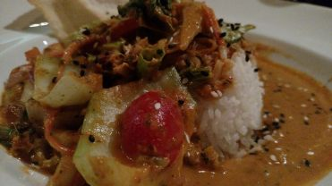 Thai Red Curry Bowl from Milestones