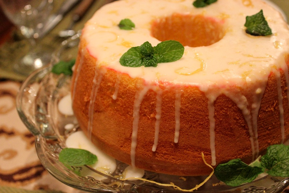 NEW YEARS EVE DATE NIGHT - CHIFFON CAKE