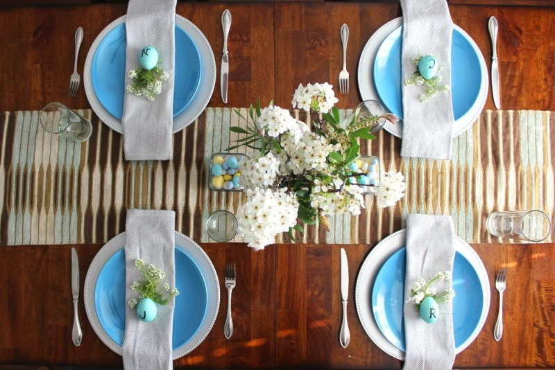 Easter Tablescape 3