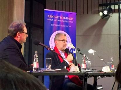 Ariowitsch-Haus Leipzig, Moderation: Matthias Morgenthaler, März 2018