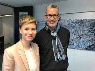 Chur – Mit Ladina Heimgartner, stellv. Generaldirektorin der SRG