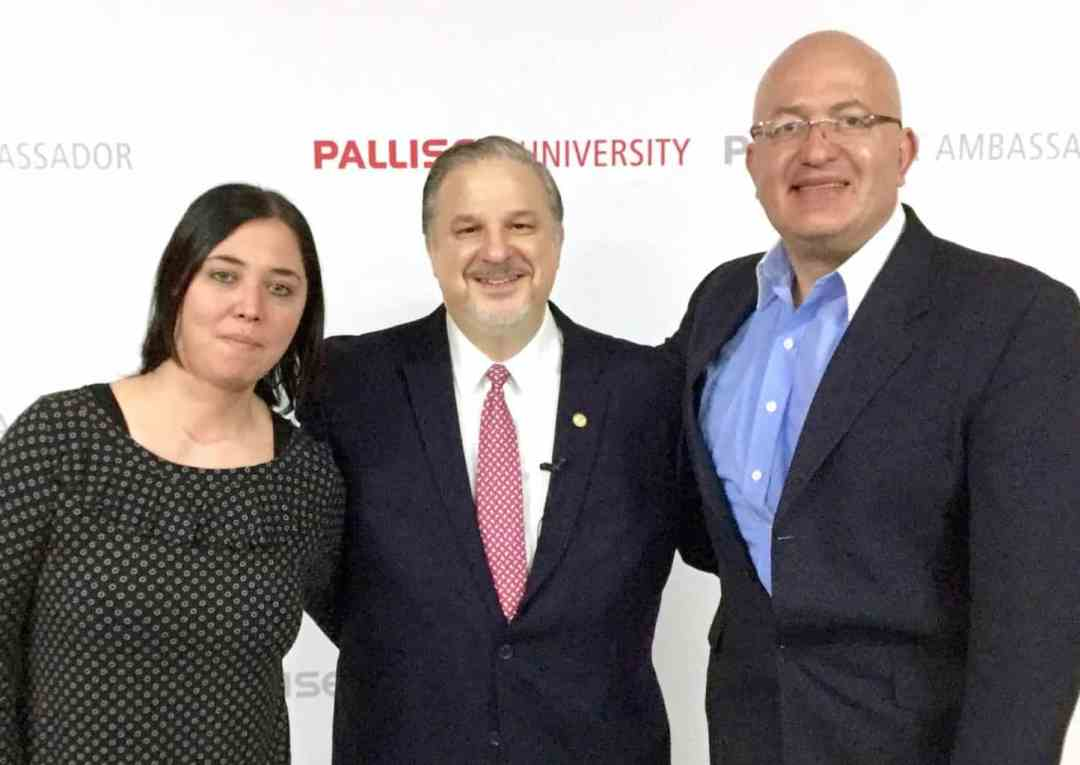 """Photo was taken at Palliser University in Saltillo, Mexico. Jose Fonseca and Ana Elsner were interpreting for the audience as Richard Tyler, Best Selling Author and the world's top sales and management expert taught his """"Seven Steps To Achieving Extraordinary Success In Sales""""."""