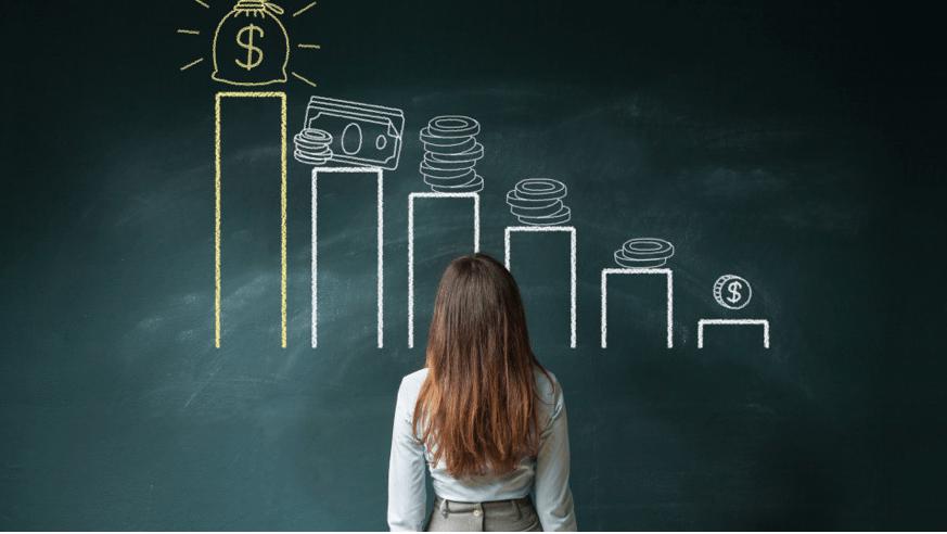 Declining Revenue Chart